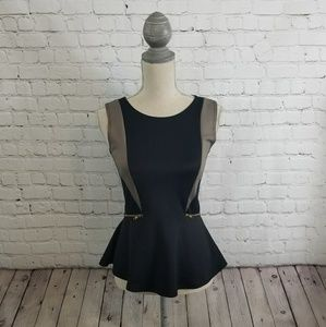 B Jewel Tops - B Jewel Peplum Top~ size XS or Small